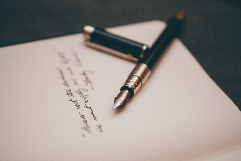 if it matters write it down
